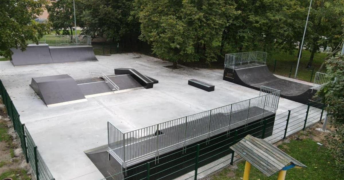 У Березовому гаю побудували скейт-парк і майданчик для вигулу собак